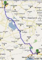 Ankara Adana Arası Kaç Km