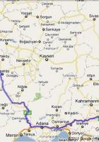Ankara Adıyaman Arası kaç Km