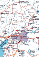 Gaziantep ilinin Diğer İllere Uzaklığı