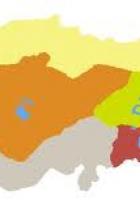 türkiye bölgeler dilsiz haritası