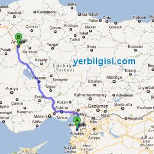Antakya Ankara Arası Kaç Km Arşivleri Yerbilgisi