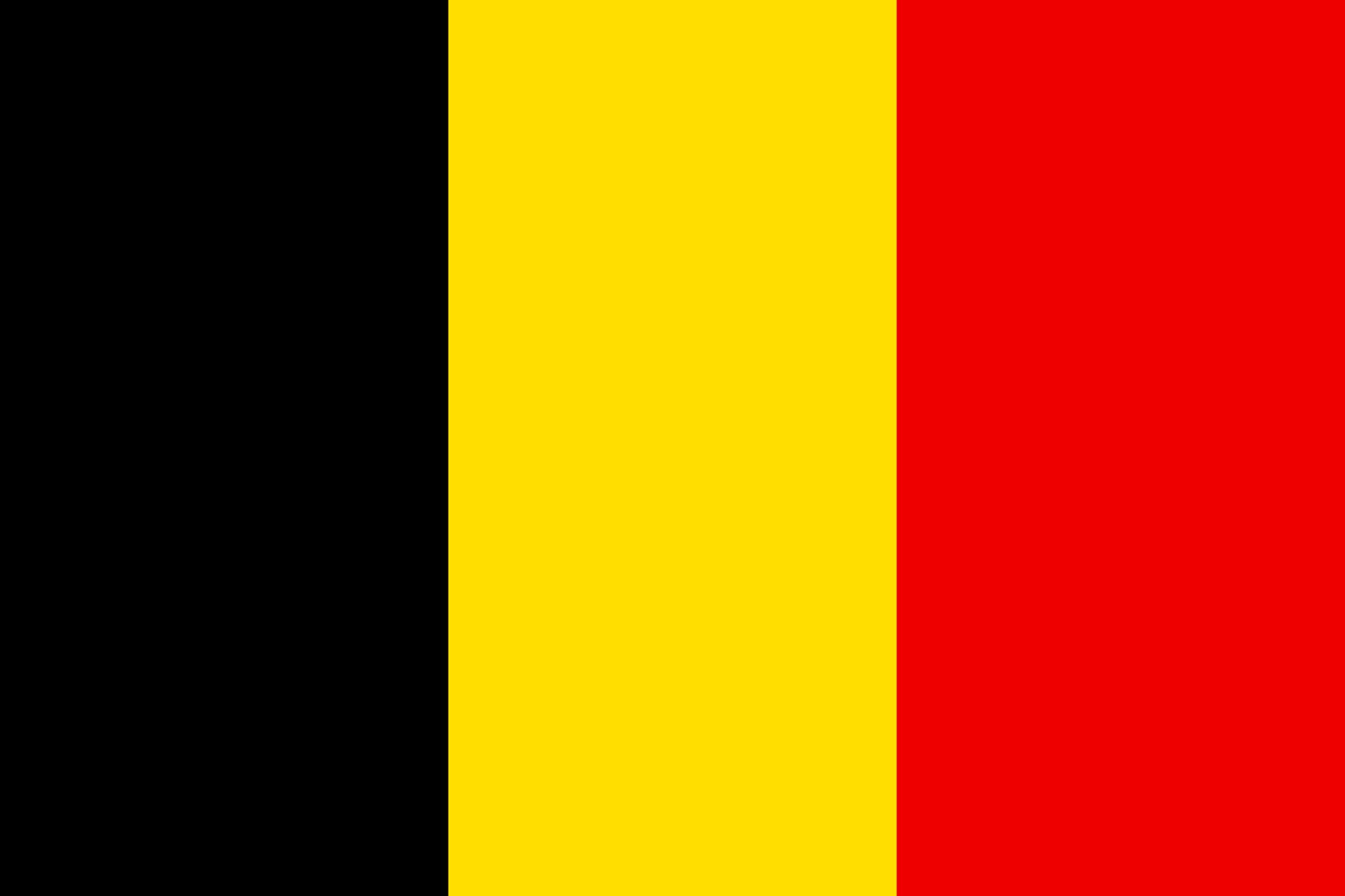 Etiket belçika bayrağı