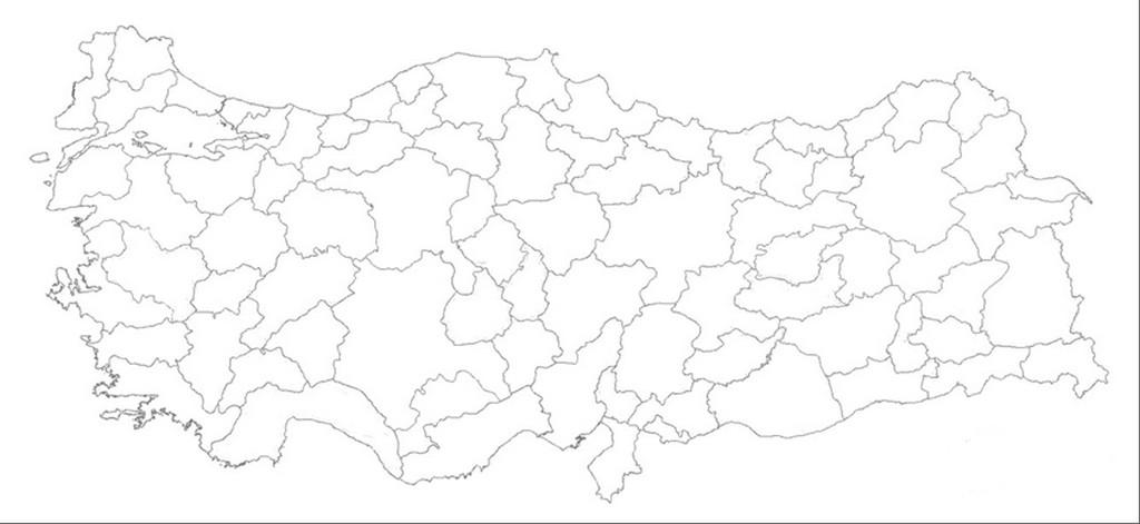 Iller haritası iller haritası oyunu iller harita indir türkiye