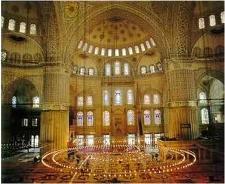 sultan ahmet camii içi