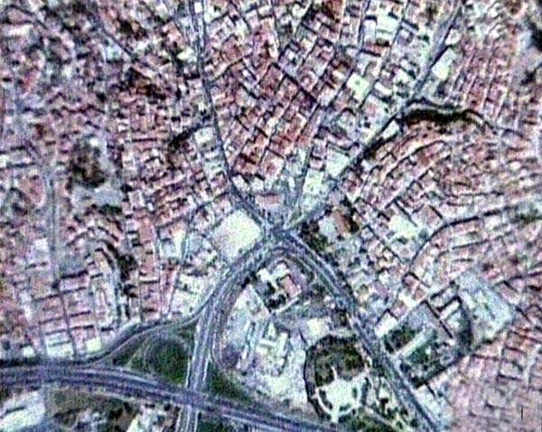 istanbul uydu görüntüleri