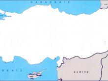 bos turkiye haritasi