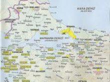 çanakkale gelibolu harita