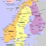 iskandinavya haritası