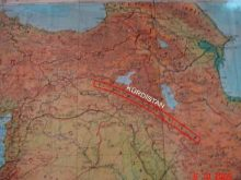 israil haritası