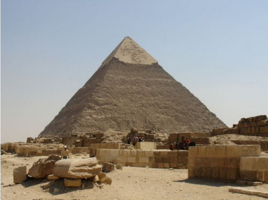 kefren piramidi
