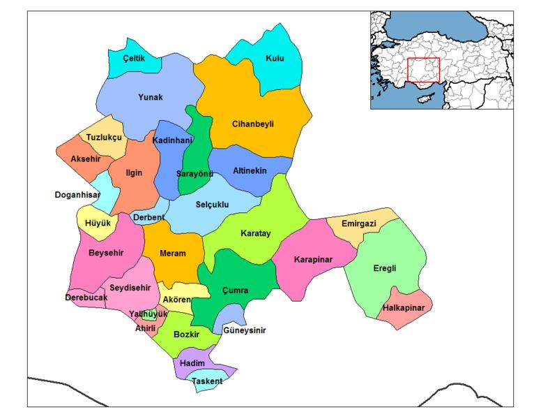 Etiket konya haritası detaylı konya haritası konya haritası