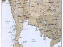 Tayland Haritası