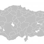 boş türkiye haritası