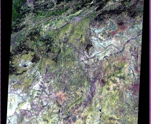 Ankara uydu görüntüleri