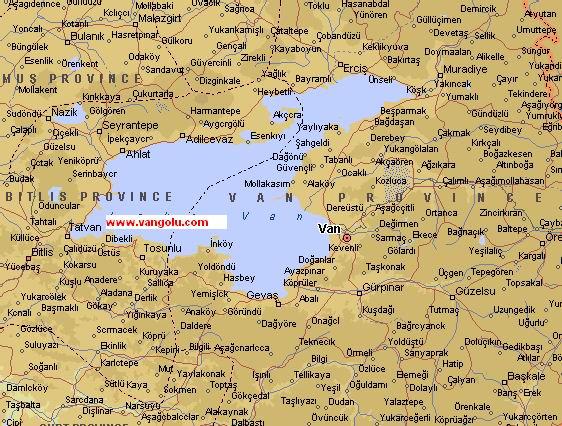 Haritası van haritası van haritası resmi van gölü haritası