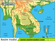 Vietnam Haritası