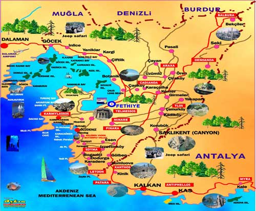 Fethiye Turkey  city pictures gallery : muğla fethiye harita muğla fethiye harita resimleri muğla fethiye ...