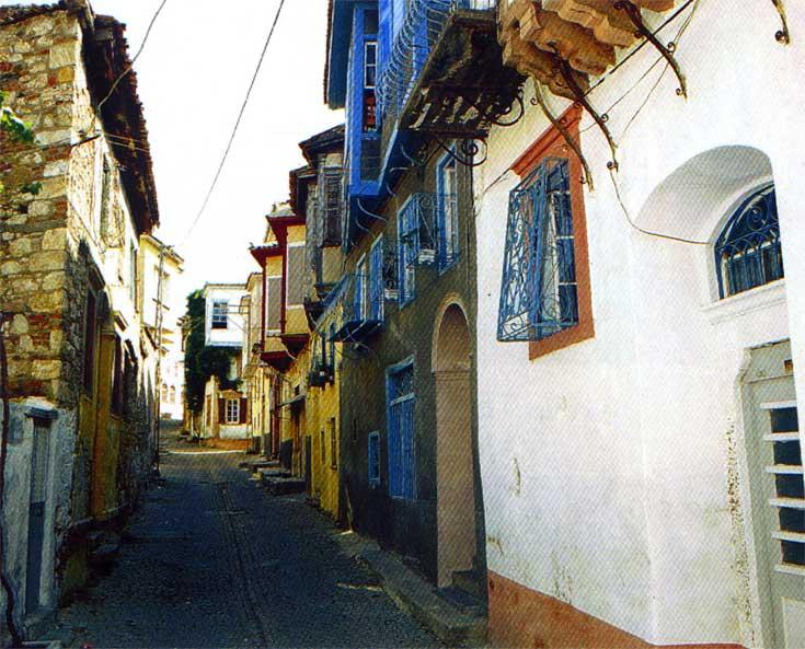 Sokakları ayvalık sokakları resimleri ayvalık sokakları resmi