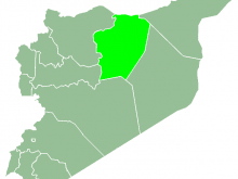 Ar Raqqah map