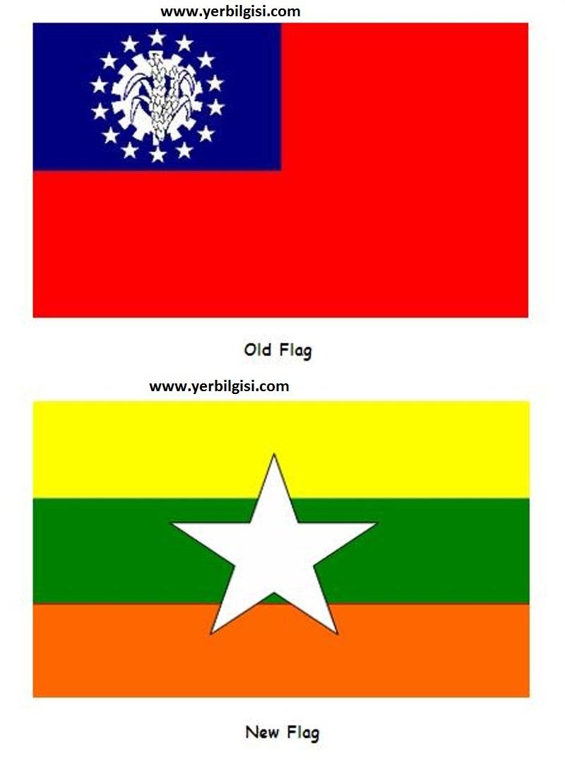 Myanmar bayragi resimleri ve fotograflari resmi