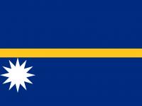 nauru bayrağı
