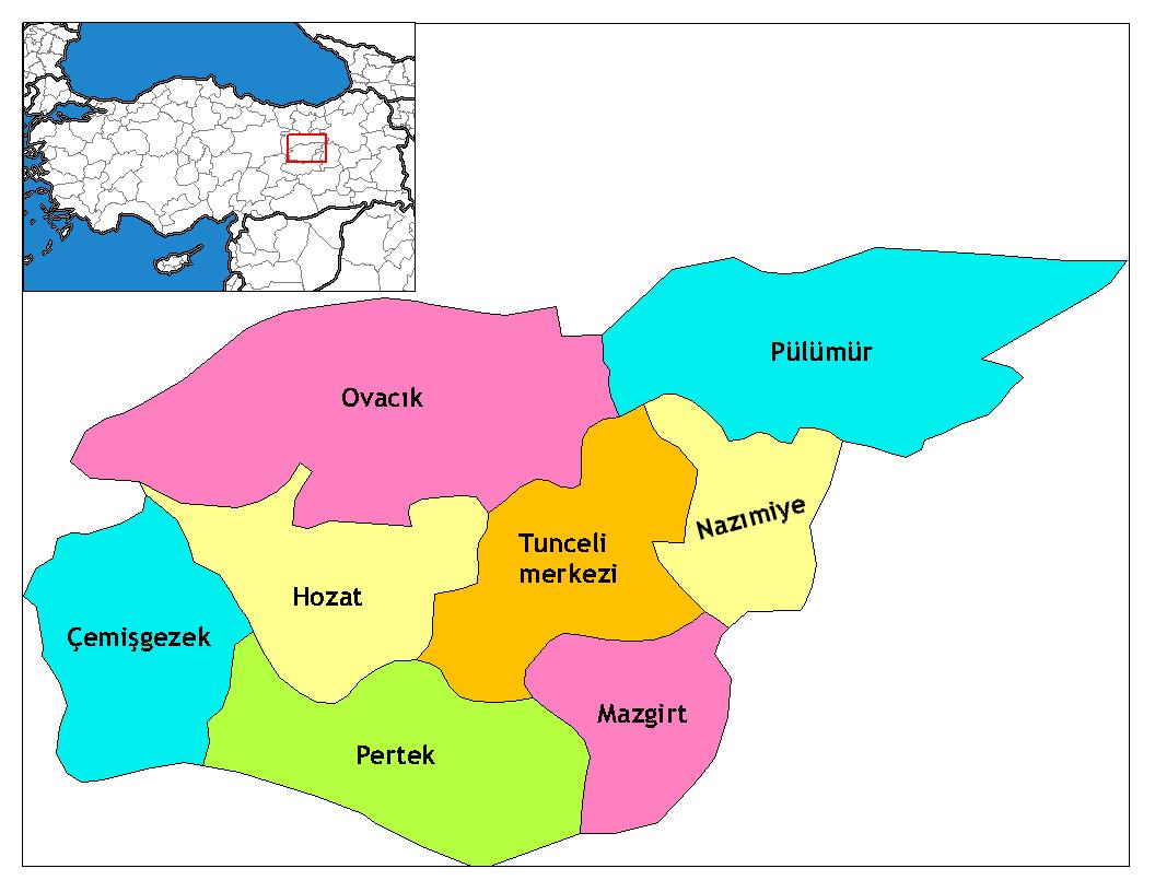 Dersim_districts