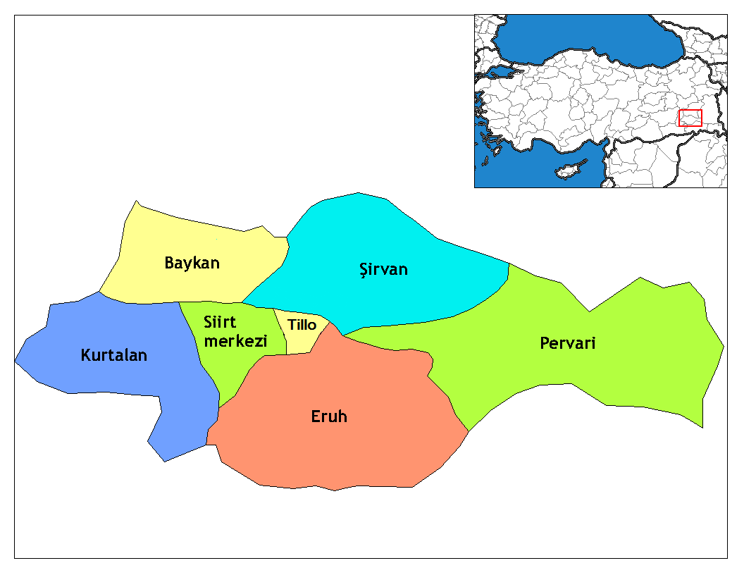 Siirt_districts